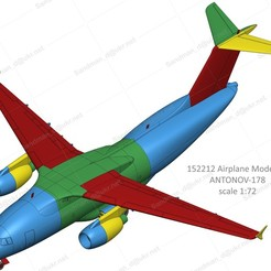 152212 AN-178 Down noStand W2D2S2C1 v.22 (assembly) Photo 07 WM.jpg Télécharger fichier STL 152212 Antonov AN-178 (en bas) • Plan pour impression 3D, sandman_d