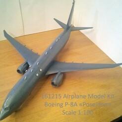 161215 Boeing P-8a Down Stand B Photo 05wm.jpg Download STL file 161215 Boeing P-8A Poseidon Down • 3D print object, sandman_d