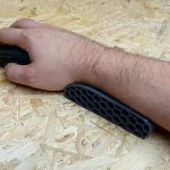 20200710_132547.jpg Télécharger fichier STL Tapis de souris ergonomique pour le repos des mains • Objet imprimable en 3D, 3dplay