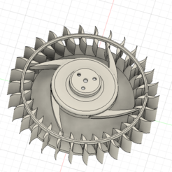 aspas.png Download STL file Blow Fan MAC - air pump ventilation • 3D print template, masedone6278