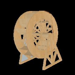 rueda molino v6.png Download free STL file Water Mill • 3D print design, masedone6278