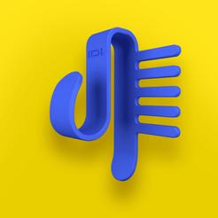 R1A.png Download STL file  Lens holder comb • 3D printable template, Idealandstudio