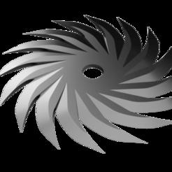Pin Wheel Shuriken - full blade.png Download STL file Shuriken; Pin Wheel Shuriken - full blade • 3D printable template, adisoday