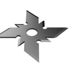 Razor Shuriken.png Download STL file Shuriken; Razor Shuriken • 3D printer template, adisoday