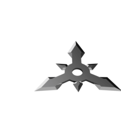Arrow Head Shuriken - 3 point multi head.png Télécharger fichier STL Shuriken ; Shuriken à tête fléchée - 3 points multi-tête • Modèle à imprimer en 3D, adisoday