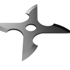 Blade Shuriken.png Download STL file Shuriken; Blade edge Shuriken • Template to 3D print, adisoday