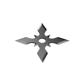 Arrow Head Shuriken - 4 point multi head.png Télécharger fichier STL Shuriken ; Shuriken à tête fléchée - 4 points multi-têtes • Design à imprimer en 3D, adisoday