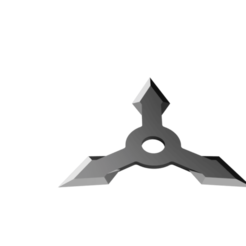 Arrow Head Shuriken - 3 point head.png Télécharger fichier STL Shuriken ; Shuriken à tête fléchée - tête à 3 points • Objet imprimable en 3D, adisoday