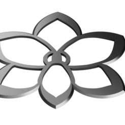 Flower Shuriken - Orchid.png Download STL file Shuriken; Flower Shuriken - Orchid • 3D printable object, adisoday