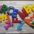1603020870832.jpg Download STL file Hanging letter masks • 3D printable model, Vetusta_3D