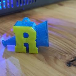 Download 3D printer templates RIVERDALE key ring, Vetusta_3D