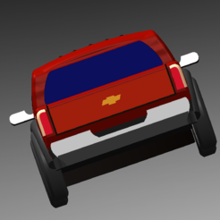 2.PNG Download free STL file Chevrolet van • 3D printing object, rnts