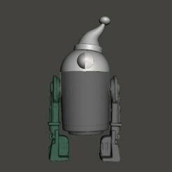 SC-1.jpg Télécharger fichier STL Droïde d'aide du Père Noël (S1-C1) • Design imprimable en 3D, geekbot71