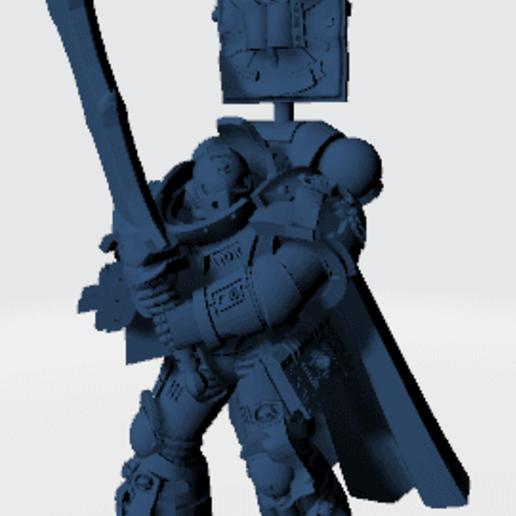 Castlellan Crowe (2).png Télécharger fichier STL gratuit M. Crowe Purest Silver Paladin • Objet pour impression 3D, joeldawson93