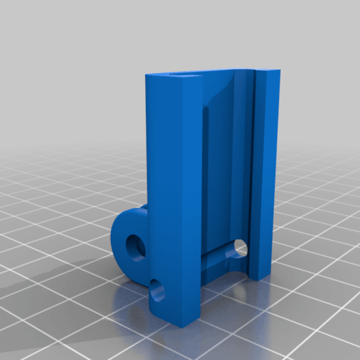 Download free 3D print files Gopro type support on picatiny rail, Blaise_fr