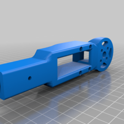 PZ15094motor_mount.png Download free OBJ file Retractable landing gear for drone • 3D printable design, Blaise_fr