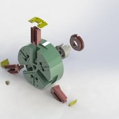 Autoblock NT-D 315 - Vista explosionado.JPG Download free STL file Fixing Plate • 3D printing design, Puro3D