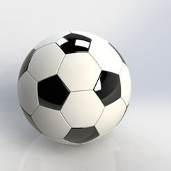 Balon de Futbol.JPG Download free STL file Soccer Ball • 3D printable object, Puro3D