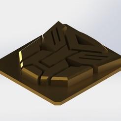 Descargar modelos 3D gratis Escudo Autobots Transformers, Puro3D