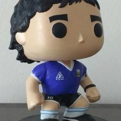 1.jpeg Télécharger fichier STL Funko Diego Maradona • Objet imprimable en 3D, joelluquesalinas