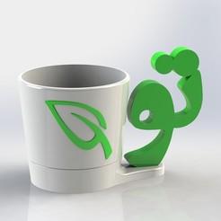 """Download 3D model Flower pot named """"TO"""", 3dtech-designs"""