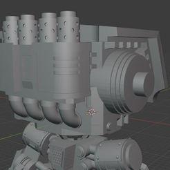 2020-09-28 12_50_09-Blender_ [C__Users_Heiko_Documents_3d-druck_Tabletop_Horus Heresy_Dreadnoughts_M.jpg Download STL file 4th Legion Dreadnought • 3D printable model, theadditivemanufacturer