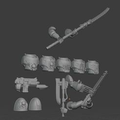 2020-09-21 16_51_37-Blender_ [C__Users_Heiko_Documents_3d-druck_Tabletop_8th legion_Terror Squad_Ter.jpg Download free STL file Night Lords Upgrades MK4 Armor • Template to 3D print, theadditivemanufacturer