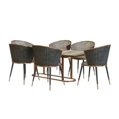Download STL file modern dining table chair, unisjamavari