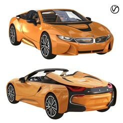 preview1.jpg Download STL file bmw i8 roadster orange • 3D printing design, unisjamavari