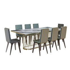 Download 3D printing models modern dininjg table, unisjamavari