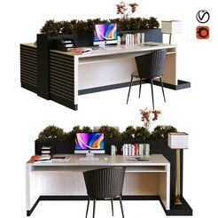 preview1.jpg Download STL file workplace 017 • 3D printing template, unisjamavari