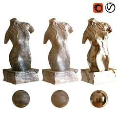 preview1.jpg Download STL file woman sculpture 001 • Template to 3D print, unisjamavari