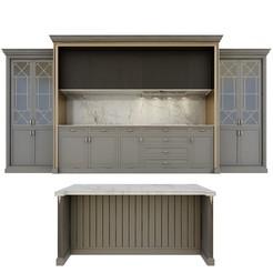 Download 3D printer designs classice kitchen set , unisjamavari