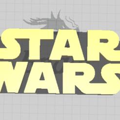 Captura de pantalla 2020-10-07 172213.png Télécharger fichier STL gratuit Logo Star Wars • Plan pour impression 3D, A127
