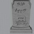 Télécharger objet 3D gratuit Pierre tombale Hipstr, Ugly