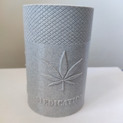 31.jpg Download STL file Medication cannabis Recycling baby pot • 3D printer model, Bobcat_le_Bricoleur