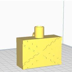 Captura.JPG Download STL file Burgundy flag • 3D print template, pedromanuelmartinezmartinez