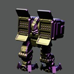 Download free STL file English Bowman Mech • 3D printer template, GrinningIdiot