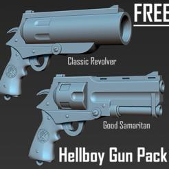 Capa - Copia231321213987987.png Télécharger fichier STL gratuit Hellboy - version film et bande dessinée du Bon Samaritain (GRATUIT) • Design imprimable en 3D, grahir_barcellos