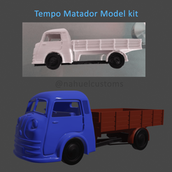 Download 3D printing models Tempo Matador Model kit, ditomaso147