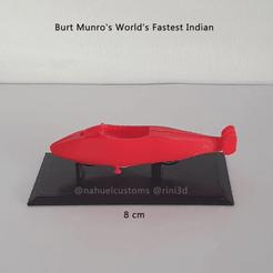 Descargar archivos STL  Burt Munro's World's Fastest Indian - Record bike, ditomaso147