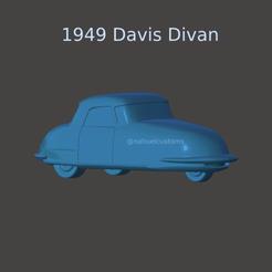 New Project(2).png Télécharger fichier STL 1948 Davis Divan • Objet à imprimer en 3D, ditomaso147