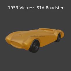 New Project(24).png Download STL file 1953 Victress S1A Roadster • 3D print template, ditomaso147