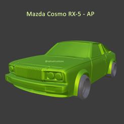 cosmos5.png Télécharger fichier STL Mazda Cosmo RX-5 AP • Plan à imprimer en 3D, ditomaso147