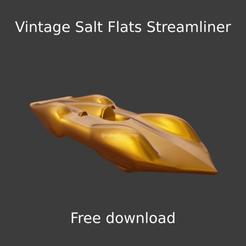 Nuevo proyecto (62).png Download free STL file Vintage Salt Flats Streamliner • 3D printing model, ditomaso147