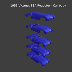 New Project(19).png Download STL file 1953 Victress S1A Roadster - Car body • Object to 3D print, ditomaso147