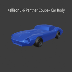 kelly4.png Download STL file Kellison J-6 Panther Coupe • 3D printing template, ditomaso147