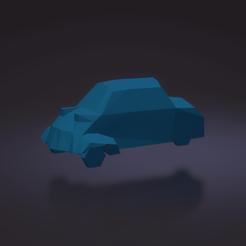 Descargar modelos 3D para imprimir  messerschmitt KR200 Low poly Microcar, ditomaso147
