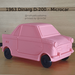 New Project(40).png Télécharger fichier STL 1963 Dinarg D-200 - Microcar • Plan pour impression 3D, ditomaso147