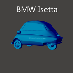 isetta2.png Download STL file BMW Isetta • 3D print model, ditomaso147